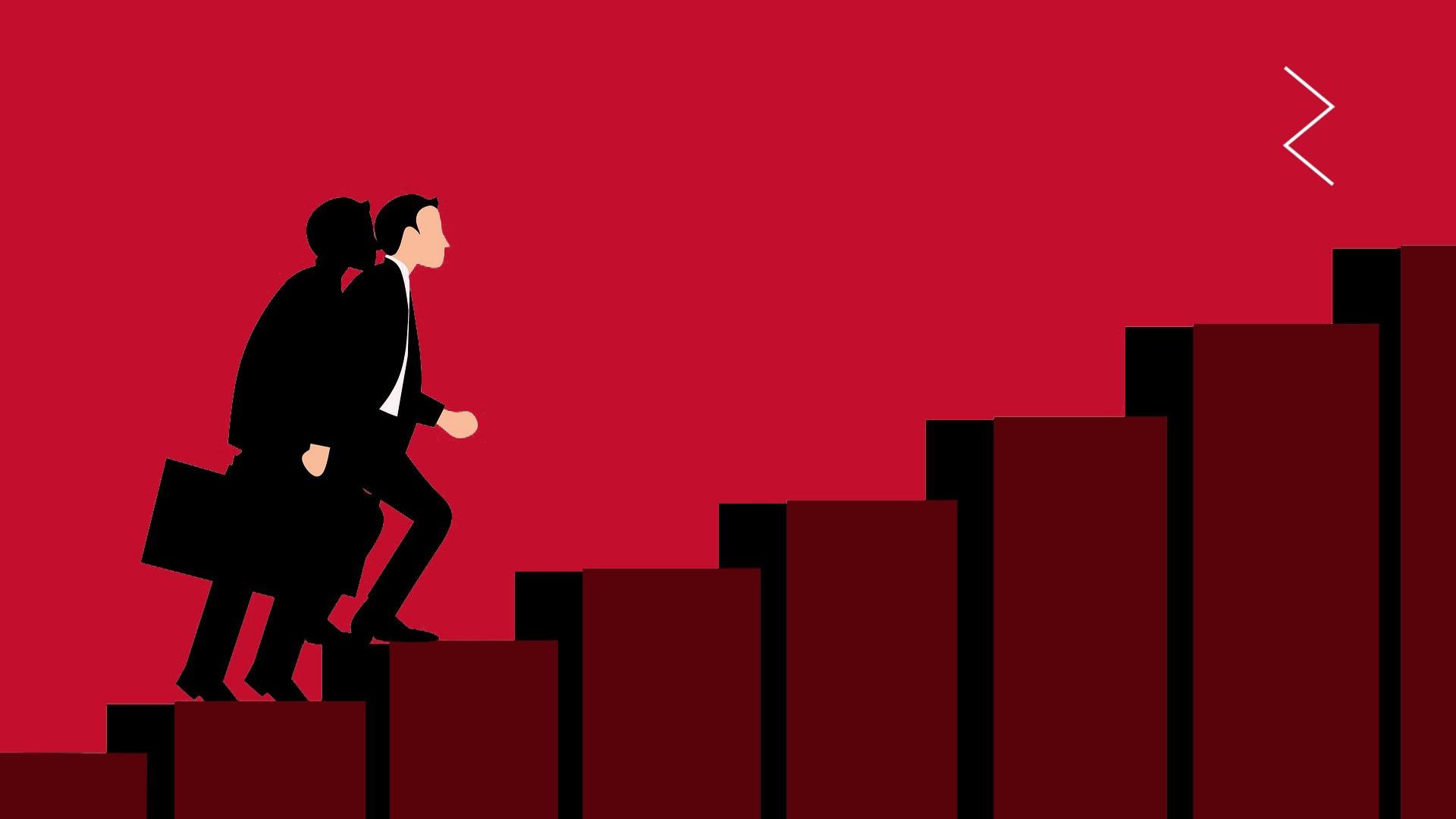 Climbing the recruitment ladder