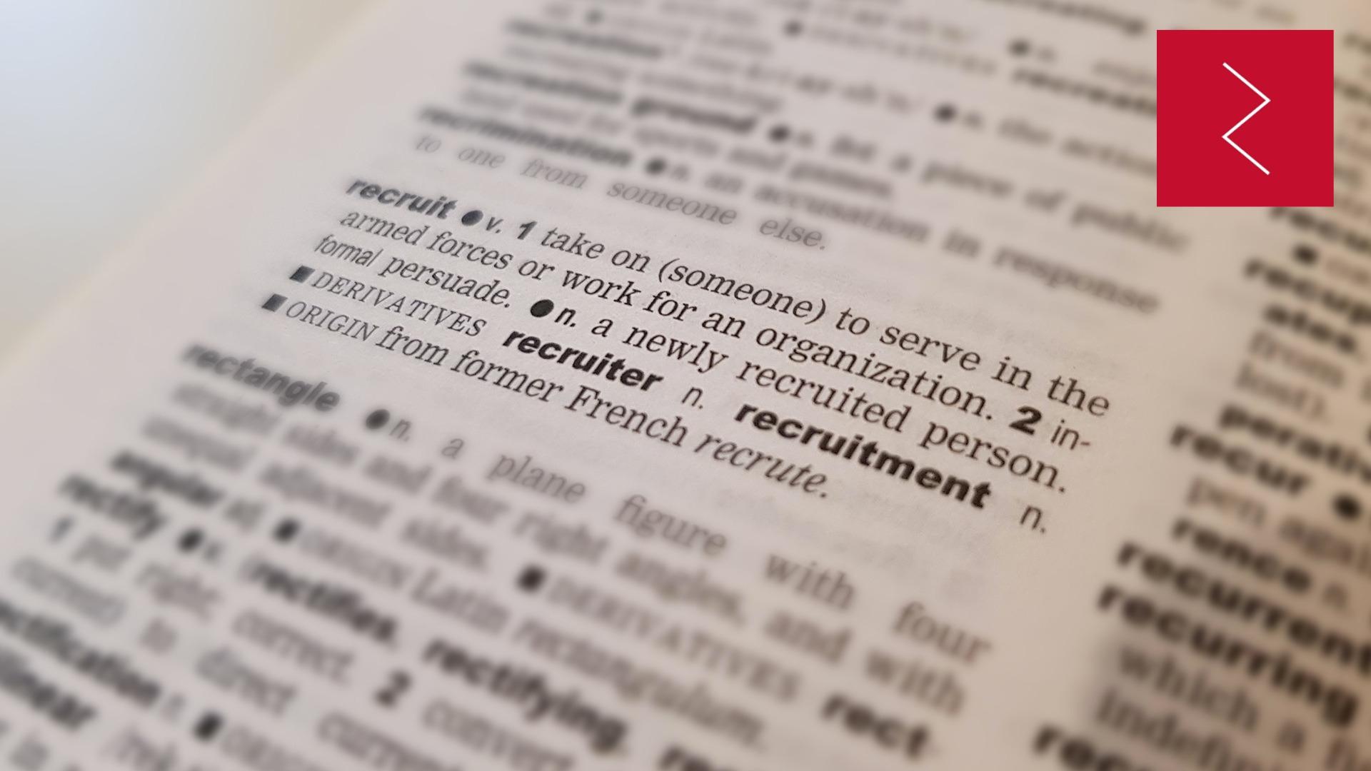 Redefine recruitment