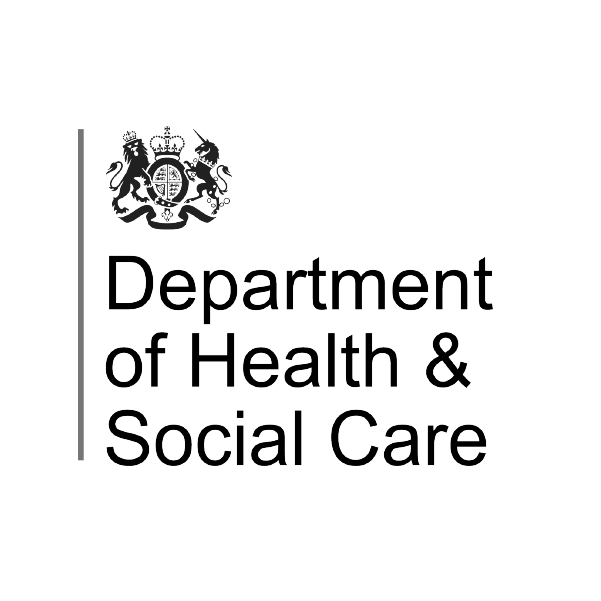 Department for health and social care logo